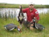 Bow hunting with decoys